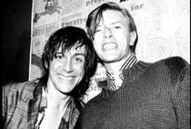 David Bowie & Iggy Pop / Rachel St. Claire's inspiration... from Icarus Rising.