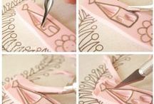 ~ Stamp Your Art Out ~ / by L'Atelier deMarie