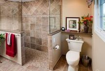 Bathroom Remodeling Ideas / Like what you see? Call Legendary Construction today and let us help you bring your pins to your home!