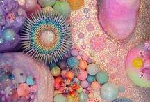Rad n Rainbow / Inspirations of retro pastel rainbow funkiness.