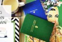 Sloane Stationery / Libretas y fundas de móviles de la marca británica Sloane Stationery. ¡Diseño único y original que combina el estilo clásico con un toque divertido gracias a las divertidas frases en tono dorado!