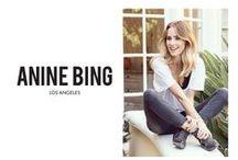 Anine Bing / La elegancia europea, el estilo casual de Los Ángeles y origen nórdico. Ello da como resultado un estilo muy auténtico en el mundo de la moda.