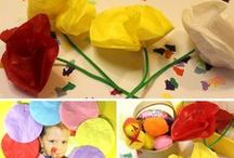 Easter Ideas for Early Years (EYFS) / A great selection of Easter crafts and activities  ideas for  Early Years and Key Stage 1. Looking at how they can be used to meet the seven areas of development whilst having fun!