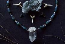 Beaded Crystal Necklaces / Jewelry by Bionic Unicorn https://www.etsy.com/shop/bionicunicorn