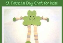 St Patrick's Day Craft Ideas & resources / #StPatrick'sDay #classroom_resources prints and ideas to cover areas of #learning such as #numeracy, #colours, #expressive_arts, literacy, #fine_motor_skill dvelopment and #understanding_the_world. #eyfs #ks1 #ks2