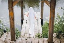 """Wedding in the woods / """"Do you know which place you should choose? Somewhere only we know..."""""""