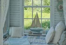 "Eclectic Beach Cottage / Ideas for various decor, fixtures and decorating tricks for any cottage style home (this is my wish book of renovating ideas for our own little Cottage on the lake, our ""Eclectic Cottage"", my ""name sake""). / by eclectic cottage"