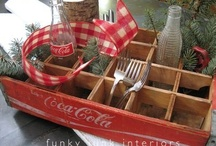 Vintage Wood Crates / by eclectic cottage