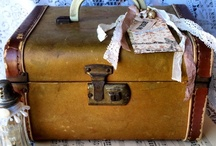 Train Cases and Vintage Suitcases / by eclectic cottage