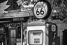 Gas Pumps & Gas Stations / by eclectic cottage