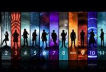 Doctor Who / #4 was my first Doctor & #10 is my favorite...what a great show! / by Tammy White