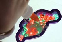 Pony Bead & Glass Crafts / Pony bead & Glass crafts / by MarloomZ Creations