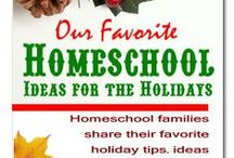 Christmas Actvities / Homeschool Christmas activities. / by CHEWV