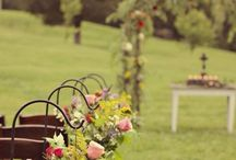 Outdoor Wedding Ideas / Love the outdoors? Why not reflect that passion on your big day!