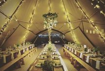 Peaktipi Tipis Teepees / Come and 'Take a Peek' at the beautiful, striking structure that are 'tipi's' or 'teepees' - suitable for Weddings, events & special occasions