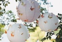 Hanging Decor Wedding Ideas / #Lanterns #tassels to #bunting, hanging decor in the #tipis really adds to the #personality and #atmosphere - make your mark!  tipiwedding #teepeewedding #outdoorwedding