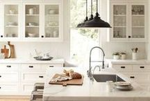 dream kitchen / dream kitchen spaces: modern, rustic, or industrial, but all with hearth & heart.