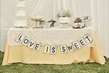Sweets and Treats Table Wedding Ideas / Bonbons to flying saucers, a sweet station is becoming ever popular for keeping little ones (and the big kids too) happy! #sweetstation #sweettable #treatstable #wedding #tipiwedding #teepeewedding #peaktipis