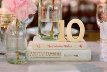 Table Numbers Ideas / Label the table with some personality #tablenumbers #tipiwedding #teepeewedding #peaktipis