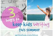Summer Activities / Summer Activities for #homeschool students. / by CHEWV