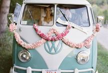 Wedding Transport Ideas / Arrive in Style! Classic, modern or vintage, all go perfectly well with a tipi wedding #transport #tipiwedding #teepeewedding #rollsroyce #vw