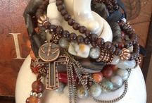 Arm Party /  Bracelets stack trends, Fashion, images.....boho chic, hippie, hipster.