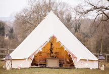 Glamping Wedding Ideas / If your Wedding is going to be 'outdoors' why not give your guests a true outdoor experience & glamp!