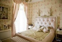 A French Inspired Boudoir / Interiors