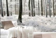 Winter Home Decor Ideas / Elegant and cosy winter decor ideas