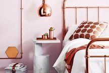 INTERIOR Copper Loves Pink / Copper/Koper and pink
