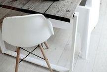 INTERIOR White & Wood / interior white en wood inspiration
