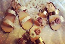 Handmade Greek Leather Sandals / Handmade