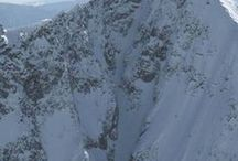 Couloirs. / Skiing Couloirs Around The World