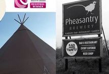 Peaktipis Tipi Open Day / We'll be at the fab Pheasantry Brewery this Saturday 7th February 2015 from 10.30am & 1.30pm to showcase & talk all things 'Tipis' – plus you could grab a bite to eat inside the Tipi from our friends at Black Peppermint Food Company whilst you're there too. Just email us on info@peaktipis.co.uk to let us know you're coming & we'll see you there!   How to find us: The Pheasantry, High Brecks Farm, Lincoln Road, East Markham, Newark, Nottinghamshire, NG22 0SN.