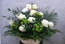 Smuteční květiny / Pietní floristika