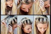 Beauty - Hairstyles / Easy moves can make your hair look amazing, learn how! So much options!