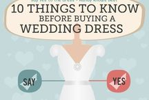 Wedding - Bride tips / Bride stuff and things about marrying