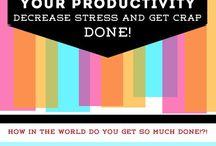 Adult life - Productivity