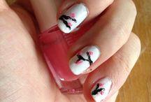 Nail arts / Simple Nail art
