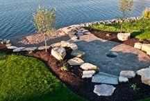 Lakeshore Landscape / by eclectic cottage