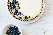 summer recipes / summer, bounty, peaches, berries, pies, celebrations, picnics