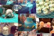 Mermaid birthday party party ideas party girl amazing party