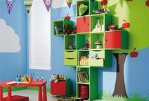 Dětský pokoj - inspirace    (Kids Room, Play room) / Dětské pokoje, inspirace do dětského pokoje - jak ho zařídit, vymalovat, spaní, sestavy nábytku, a různé jiné vychytávky, které by se dětem mohli v pokojíku líbit.