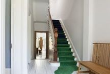 Green / A traditional carpet colour that is making a come back! Green shades go from pale to strong and are used in new build homes as well as period properties.