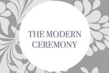 #130Weddings - The Modern Ceremony: DreamGroup Productions / See DreamGroup's interpretation of the predicted Modern Ceremony wedding trend for 2014/2015.