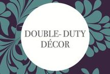 #130Weddings - Double Duty Décor: Revel Events / See Revel Events interpretation of the predicted Double Duty Décor wedding trend for 2014/2015.