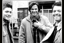 supernatural / shipping jensen ackles since 2008 :* but the happiest part is to see the trio of J2M a.k.a dean, sam, and castiel in one scene :) go SPN, i'm proud of us!!
