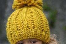 Pletení - čepice    (Knitting hats)