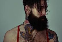 Oh darling... / Sexy man with beards & tattoos <3