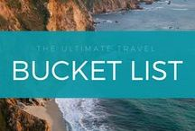Travel Bucket List / This is my world bucket list that includes the best destinations and activities